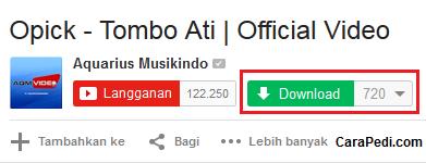 cara, download, video, youtube, idm, tanpa