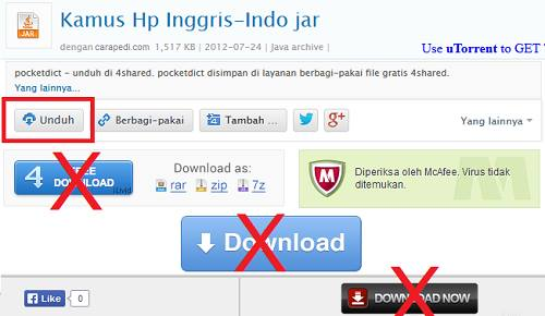 cara download file di 4shared terbaru