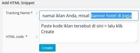 cara memasang kode iklan google adsense secara manual di wordpress