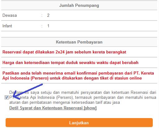cara pesan tiket kereta api melalui internet