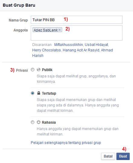 cara bikin grup di fb terbaru