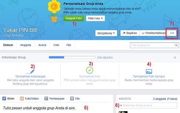 cara membuat grup di facebook step 3