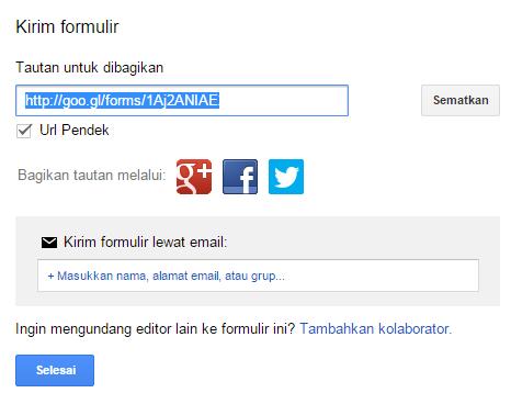 cara membuat formulir registrasi online secara gratis