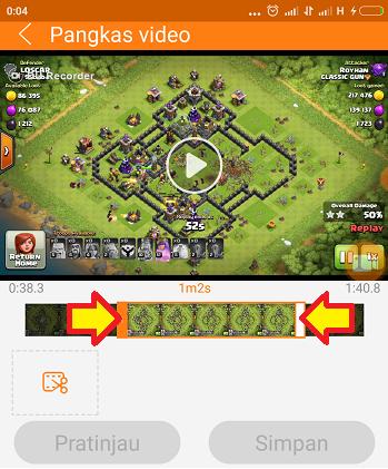 cara merekam layar di android tanpa root gratis