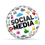 cara, pop up, social, media