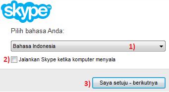 cara daftar dan menggunakan skype untuk telp dan video call gratis