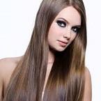 cara, rambut, panjang, alami