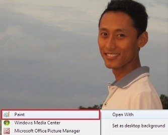 gambar untuk artikel cara potong gambar tanpa instal software