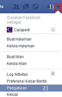 cara mengganti nama profil facebook disertai dengan penjelasan gambarnya