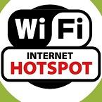 cara, wifi, hotspot, laptop