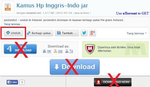 cara download file di 4shared terbaru
