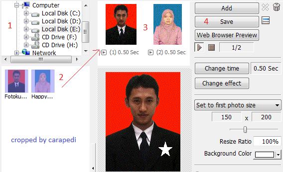 Cara Mudah Membuat Foto Profil Dp Bbm Bergerak