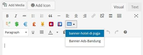 cara memasukkan kode iklan google adsense di wordpress