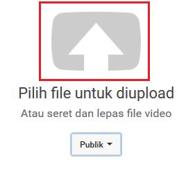 tutorial cara upload video di youtube