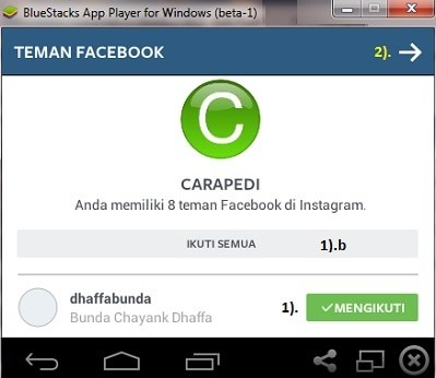 cara instal instagram di laptop step 2