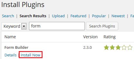 cara instal plugin di wordpress