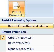 cara agar file word tidak bisa dicopy