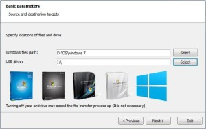 cara, instal, widows 7, melalui, flask disk