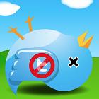 icon, twitter, hapus