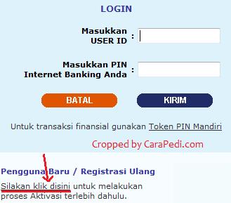 gambar untuk cara daftar internet banking mandiri di atm
