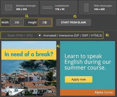 cara membuat banner iklan sendiri secara online
