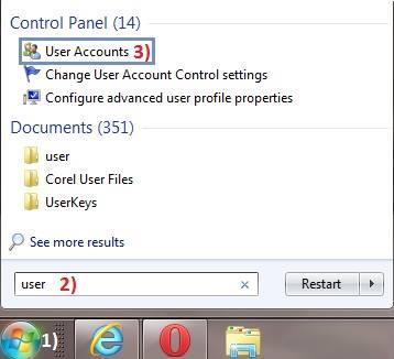 cara mempassword laptop atau komputer pada windows 7 windows 8 windows xp