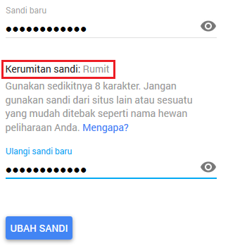 cara mengganti password gmail step 3