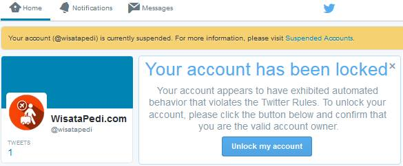 cara mengatasi akun twitter yang disuspend