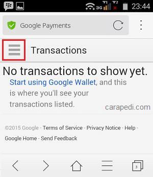 cara menghapus payment kartu kredit di google play store dengan mudah