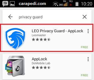 cara mengunci aplikasi di android tanpa aplikasi