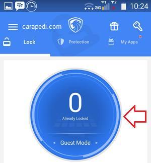 cara mempassword aplikasi pada android