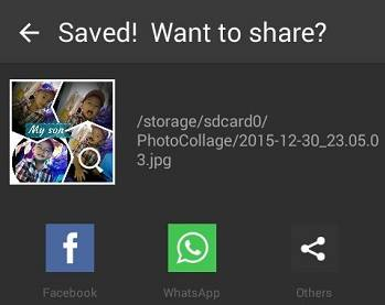 cara menggabungkan foto di android - step 3