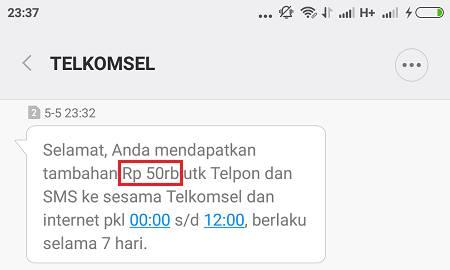 Cara Mendapatkan Pulsa Gratis 50ribu Dari Telkomsel