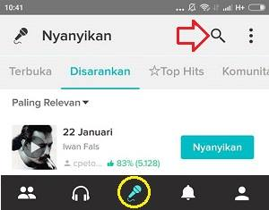 cara merekam video karaoke smule