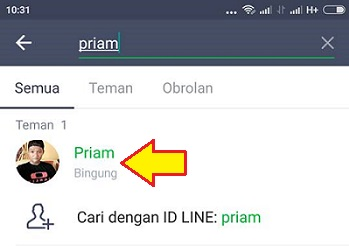 cara video call line