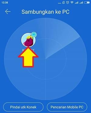 cara kirim file dari android ke pc