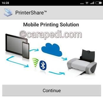 cara print langsung dari hp android