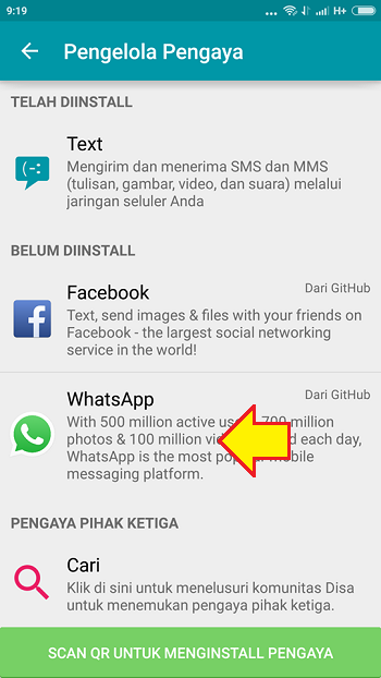 cara pasang 2 whatsapp di 1 hp android